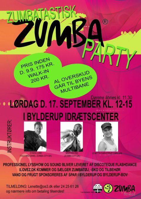 Zumba Party i Bylderup